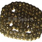 50cc Dirt Pit Bike Engine Motor Gold Chain #428 Parts For Honda CRF50 XR50