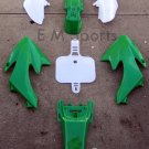 50cc Dirt Pit Bike Plastic Fairing Body Shell Cover GREEN For Honda CRF50 XR50