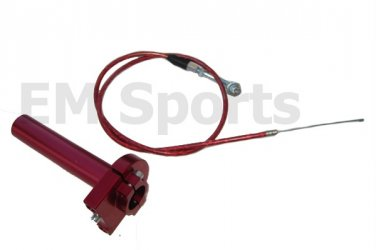 Mini Pocket Bike Metal Throttle Control Cable 47 49cc