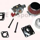 Cateye Super Mini Pocket Bike 33cc 43cc 49cc Performance Carburetor Parts Kits