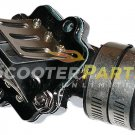Carb Intake Manifold Reed Valve For 50cc Atv Quad 4 Wheeler Polaris Scrambler 50