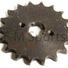 Atv Quad 4 Wheeler Dirt Pit Bike Parts 18 Tooth Front Sprocket Fits 428 Chain