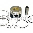 Gy6 Scooter Moped Atv Go Kart 125cc 150cc Engine Performance Piston Kit Rings