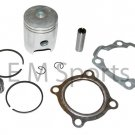 80cc Dirt Pit Bike Engine Motor Piston Kit w Rings For Yamaha PW80 1986-1991