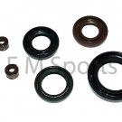 Chinese Atv Quad Go Kart Oil Seal Gaskets 150cc Parts 6pcs Kit Coolster 3150