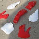 Dirt Pit Bike Fairing Plastic Body Kit Parts Kawaski RD