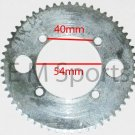 Electric E Gas Scooter Bike Parts 55 Tooth Rear Sprocket Fits 25H Chains