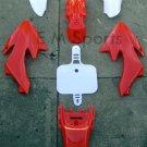Dirt Pit Bike Fairing Body Shell Plastic WOLF MOTO WMX X70 W125 70cc 125cc Red