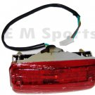 4 Stroke Atv Quad Go Kart 4 Wheeler Rear Tail Light Blinker Parts Red