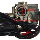 50cc Gas Moped Scooter Carburetor Carb For Honda Dio 50 SK50 AF18 AF27 AF28 Part