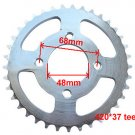 Atv Quad 37 Tooth Rear Drive Sprocket COOLSTER 110cc 3050A 3050AX 3050B 3050B-2