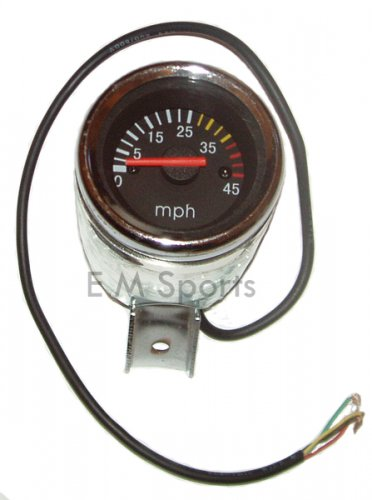Super Mini Pocket Bike Parts Guage Speedometer 43 49cc