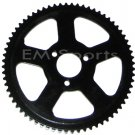 Chinese Mini Pocket Bike Parts Rear Sprocket 68 Tooth 47cc 49cc Fits 25H Chains