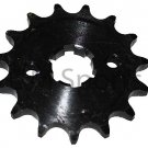 Dirt Pit Bike 15 Tooth Front Sprocket 70cc 125cc COOLSTER 214FC 210A 210X-70 210