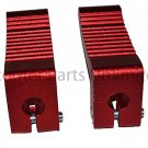 Mini Pocket Bike Performance Alloy Aluminum Footpegs Foot pegs Red Cag Mx3