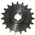19 Tooth Front Sprocket 47cc 49cc Mini Pocket Dirt Bike Parts COOLSTER QG-50