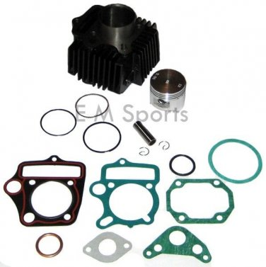 Cylinder Piston Kit w Rings For Honda CL70 CT70 SL70 Mini Trail Bike Motorcycles