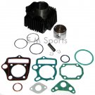 Dirt Pit Bike Cylinder Rebuild Piston w Rings 70cc Roketa DB-18 DB-37 AGB-21