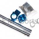Mini Pocket Bike CNC Handle Bar Set 47 49cc Parts Blue