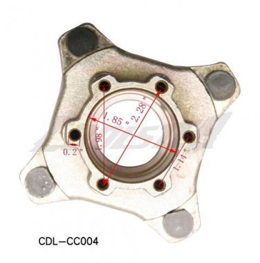 Chinese Go Karts Buggie Front Hub 150cc 250cc Parts COOLSTER 6150 6250 6250DBL