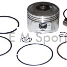 Chinese Atv Quad 4 Wheeler Dirt Bike Parts Lifan Piston Kit Rings 110cc 52.4MM