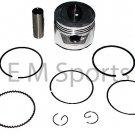 Gas Dirt Pit Bike Atv Quad Engine Motor 70cc Piston Kit with Rings 1P47FMD Parts