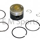 Gy6 Scooter Moped 50cc Engine Motor Molybdenum Performance Piston Kit Ring 39mm