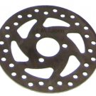 Chinese Mini Pocket Bike Parts Front Rear Wheel Brake Disk 47cc 49cc