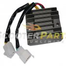 6 Pin Voltage Regulator Rectifier 11 Pole 50cc 125cc 150cc Gy6 Scooter Mopeds