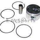 Atv Quad 150cc Piston Kit Rings COOLSTER 3150B 3150A 3150D 3150DX 3150DX-2 Parts