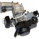 Mini Pocket Atv Quad Engine Motor 49cc w Electric Start