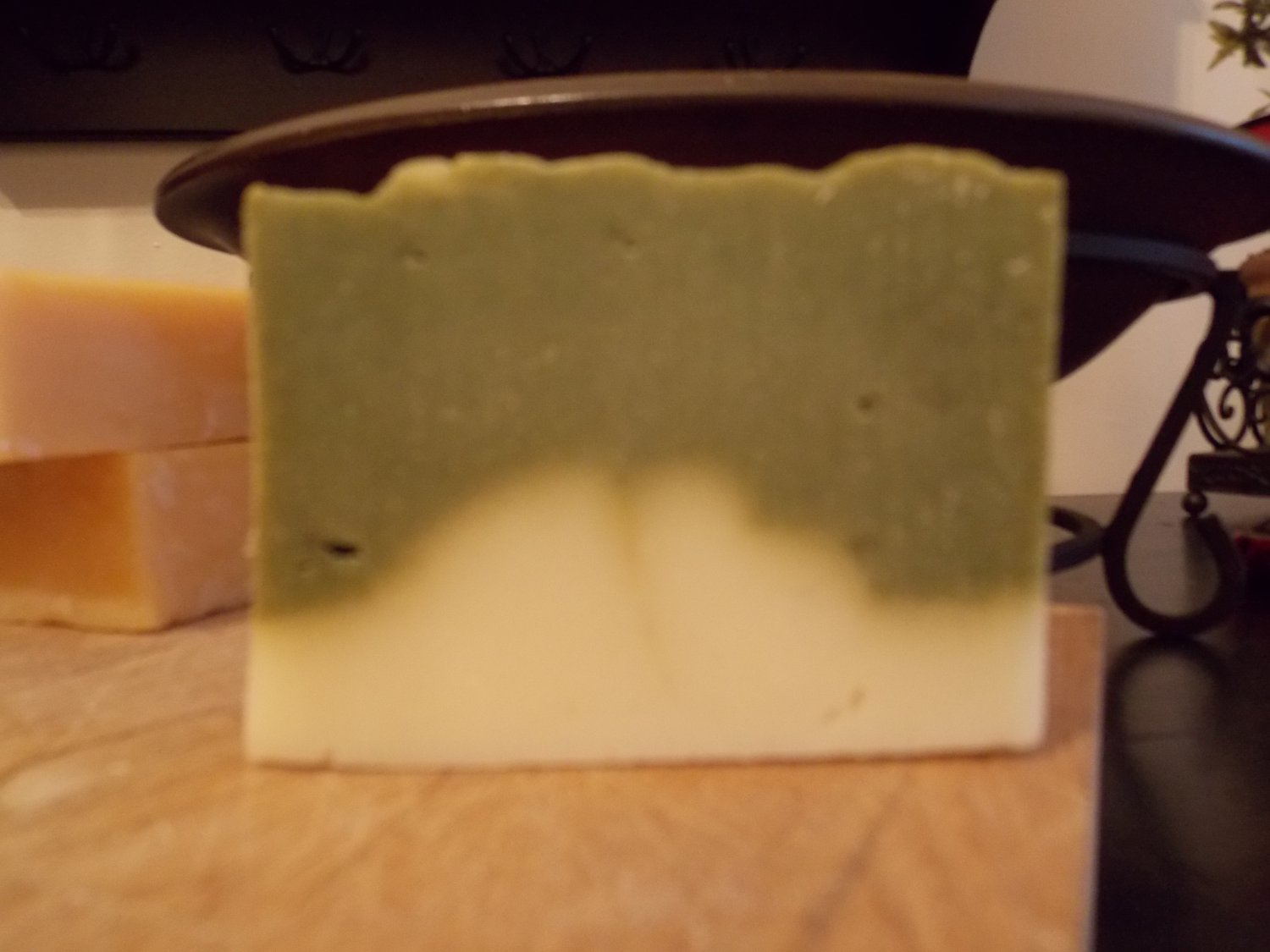 ROSEMARY ESSENTIAL OIL - Cold Process Soap with Spirulina