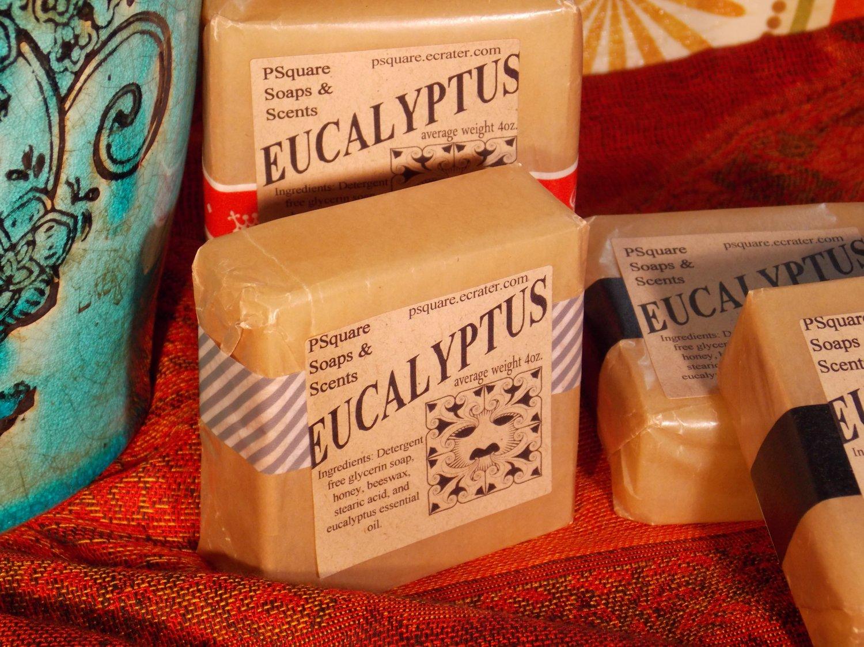 EUCALYPTUS - Glycerin Soap