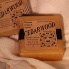CEDARWOOD - Glycerin Soap