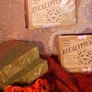 EUCALYPTUS ESSENTIAL OIL - Cold Process Soap with Spirulina