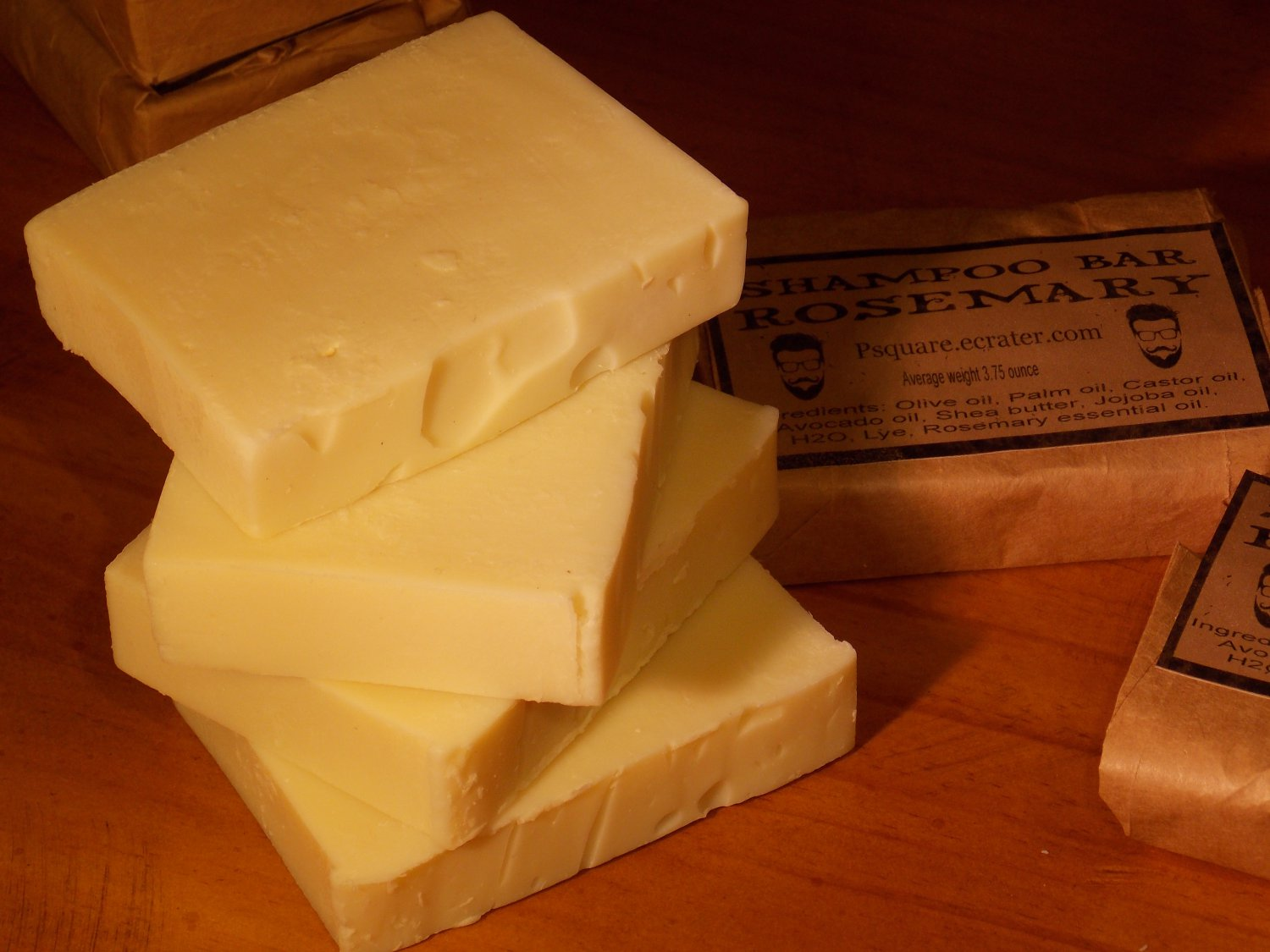 1 -ROSEMARY SHAMPOO Cold Process Bar