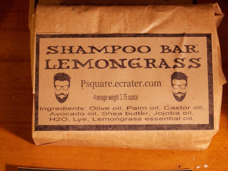 1 -LEMONGRASS SHAMPOO Cold Process Bar