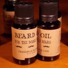 1 - Beard Oil, For the Manly Beard - Bottle is 0.5 ounce