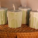 2 - VOTIVE CANDLES, Earthy Fragrances, Dirt, Grass, Nag Champa, Sandalwood, Fire Side