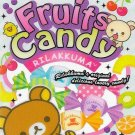 San-x Rilakkuma Fruits Candy Mini Memo Pad