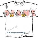 T-shirt, Your Name in NURSES, Medicine, ER - (Adult xxLg)