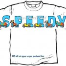 T-shirt, Your Name in RACE CARS - (Adult 4xLg - 5xLg)