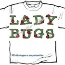 T-shirt, Your Name in LADYBUGS, lady bugs, #2 - (Adult 3xlg)