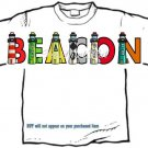 T-Shirt, Your Name in LIGHTHOUSES, see the light? - (youth & Adult Sm - xLg)