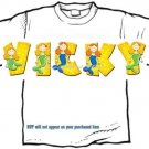 T-shirt, Your NAME in MERMAIDS, little, seamaids #2 - (adult 4xlg - 5xlg)