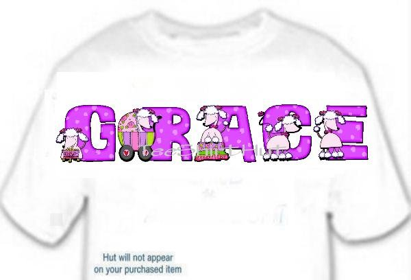 T-shirt, Your Name in POODLE Pink, buggy, show - (Adult 4xLg - 5xLg)