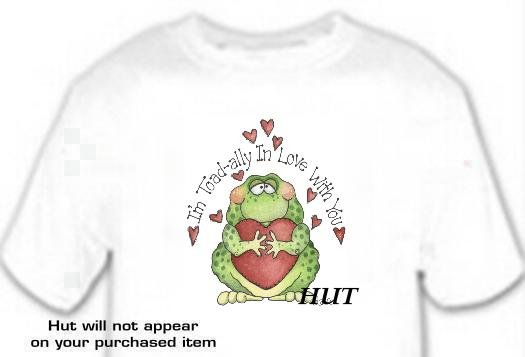 T-shirt, I'M TOAD-ALLY IN LOVE with YOU - (adult 3xlg)