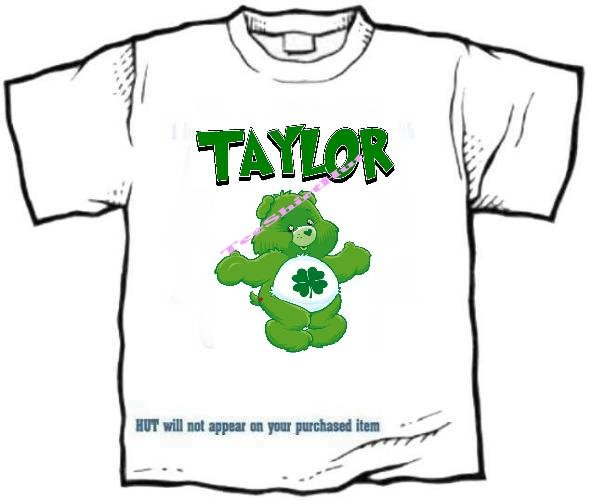 T-shirt , FEELING LUCKY, clover, Good Luck - (youth & Adult Sm - xLg)