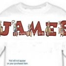 T-shirt, Your Name in RODEO heros, horse, rope - (Adult 4xLg - 5xLg)