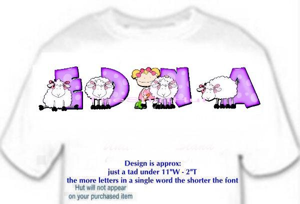 T-shirt , Counting SHEEP, baaaaaa, - (adult 3xlg)